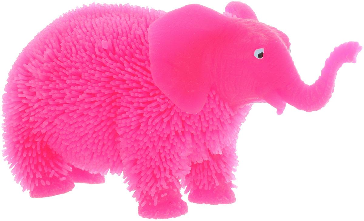 HGL Фигурка Слон с подсветкой цвет розовыйSV11190_розовыйФигурка Слон - это мягкая резиновая игрушка в виде лилового слоника с резиновым ворсом. Взяв игрушку в руки, расстаться с ней просто невозможно! Её не только приятно держать в руках: если перекинуть игрушку из руки в руку, она начнёт мигать цветными огоньками. Данная игрушка рассчитана на широкую целевую аудиторию - как детей от пяти лет, так и взрослых. Слон обязательно станет самым любимым забавным сувениром. Игрушка работает от незаменяемых батареек.