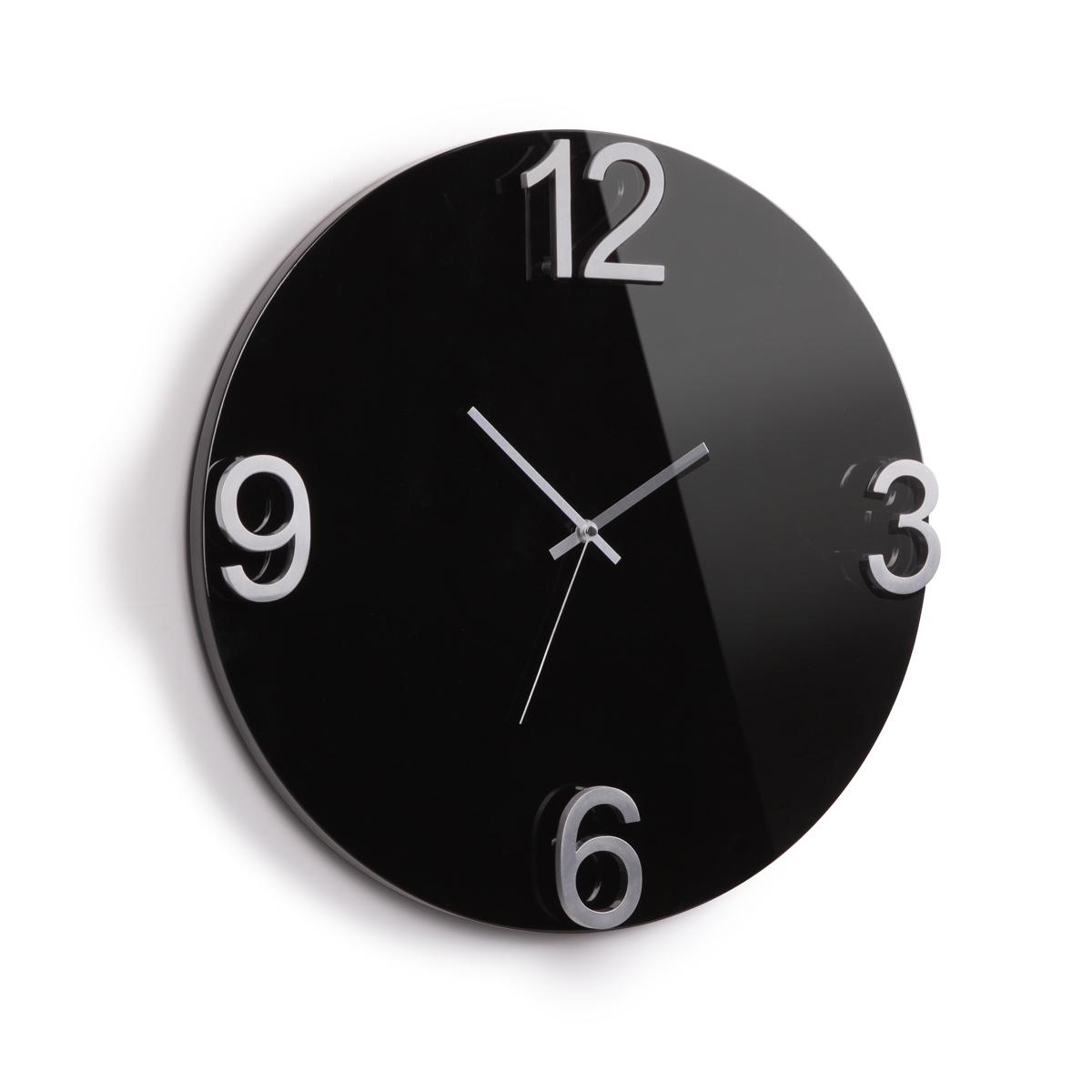 Часы настенные Umbra Elapse, цвет: черный118420-037Оригинальные настенные часы, выполненные в минималистском стиле. Основа из массива дерева с глянцевым покрытием и металлическими цифрами выглядит дорого и изысканно. Механизм работает при помощи 1 батарейки АА (батарейка в комплект не входит).