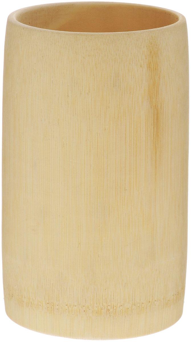 Малевичъ Стаканчик из бамбука195189Стаканчик из бамбука Малевичъ прекрасно подойдет для хранения кистей, карандашей, ручек и других инструментов художника. Выполненный из цельного стебля бамбука, этот стаканчик будет верой и правдой служить вам долгие годы. Концепции эко-дизайна и образа жизни в целом стремительно набирают популярность, а необыкновенная структура бамбука как нельзя лучше вписывается в современные тенденции. В Китайской культуре бамбук является символом счастья, олицетворяет спокойствие, умиротворение, безмятежность. В тоже время крепкий ствол бамбука символизирует защищенность, силу и долголетие. Без сомнения, такие качества как нельзя лучше способствуют творческому настроению!