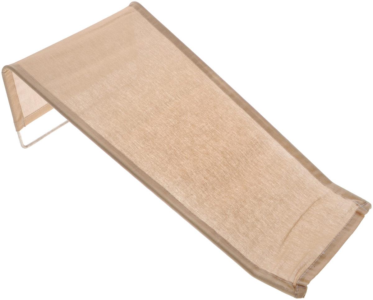 Фея Подставка для купания цвет бежевый0001332-01_бежевыйПодставка для купания Фея - это удобный способ мытья и прекрасная возможность побаловать вашего малыша. Эргономичный дизайн подставки разработан специально для комфорта и безопасности вашего ребенка. Основу подставки составляет металлический каркас, обтянутый тканью. Подарите своему малышу радость и комфорт во время купания! Подставка предназначена для купания детей в возрасте до 1 года. Фея - это качественные и надежные товары для малышей, которые может позволить себе каждая семья! Правила ухода за чехлом: после использования хорошо просушить.