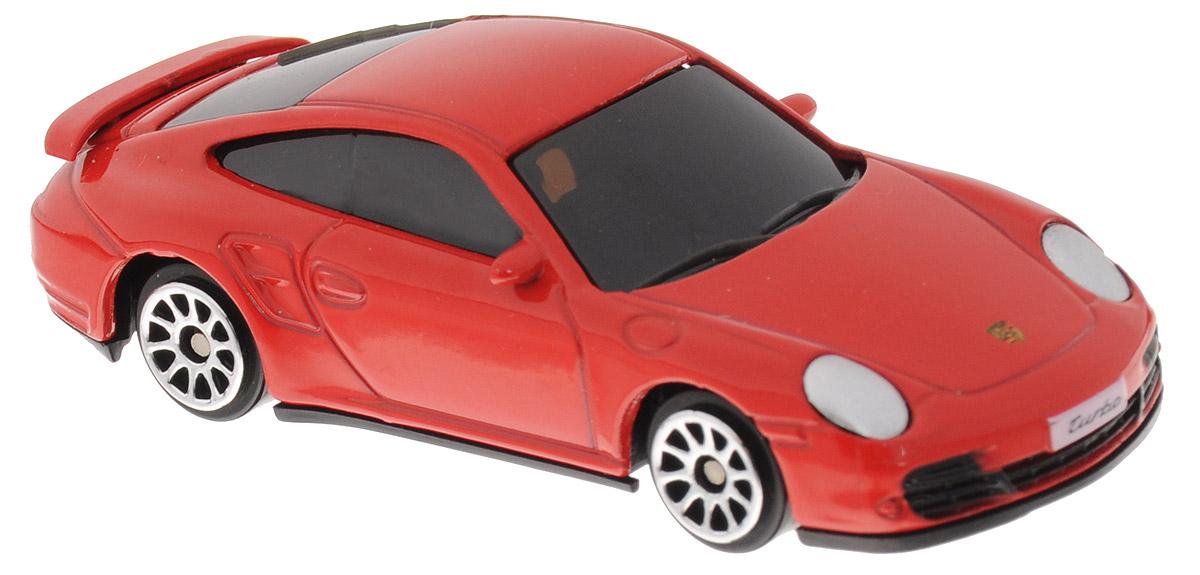 Uni-Fortune Toys Модель автомобиля Porsche 911 Turbo цвет красный344019S_красныйМодель автомобиля Uni-Fortune Toys Porsche 911 Turbo выполнена в виде модели спортивного автомобиля производства немецкой компании Porsche AG. Благодаря броской внешности и великолепной точности машинка станет подлинным украшением любой коллекции авто. Модель выполнена в масштабе 1:64. Модель будет долго служить своему владельцу благодаря металлическому корпусу с элементами из пластика. Машинка обязательно понравится вашему ребенку и станет достойным экспонатом любой коллекции.