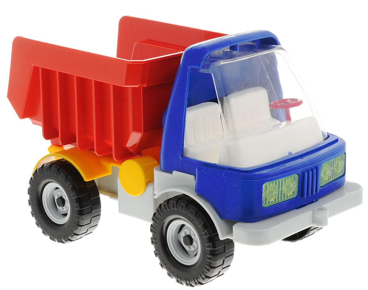 Форма Самосвал карьерныйС-136-ФКарьерный самосвал Форма станет главным развлечением вашего малыша. Выполненная из прочной пищевой пластмассы, игрушка долго прослужит малышу. Плотные массивные колеса обеспечивают плавность хода машинки, а также устойчивость. Самосвал оснащён большим пластиковым кузовом для перевозки любого груза. Кузов поднимается и опускается. Машинка очень яркая и безопасная.