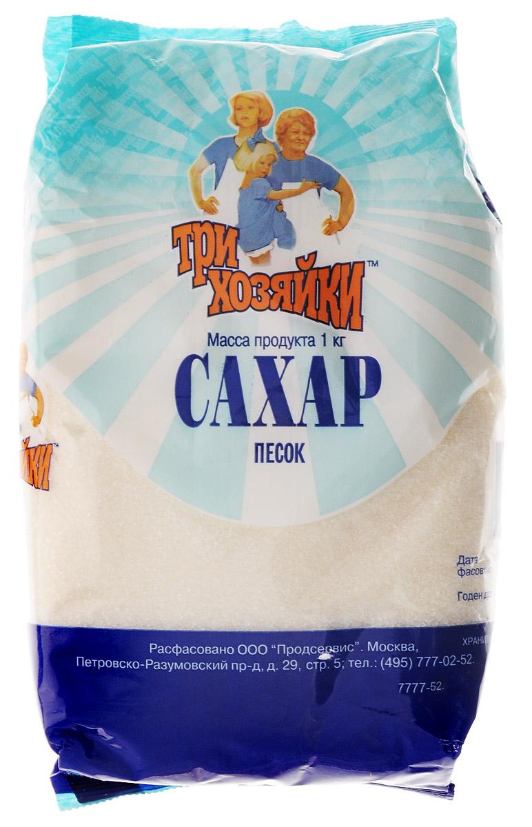 Три хозяйки сахарный песок, 1 кг