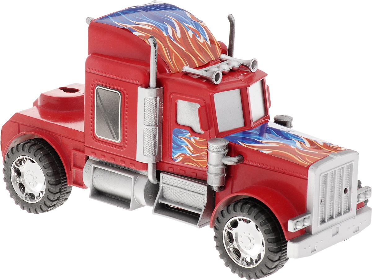 Junfa Toys Тягач инерционный цвет красный 565-3
