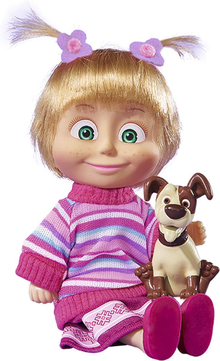 Simba Кукла Маша с животным, 12 см9302117Кукла Маша и Медведь из серии Друзья-животные, от производителя Simba порадует любого поклонника известного мультсериала про озорную девочку и медведя. На этот раз у Маши имеется любимый питомец. Кукла небольшого размера, поэтому ее можно будет брать с собой на прогулку, в путешествие.