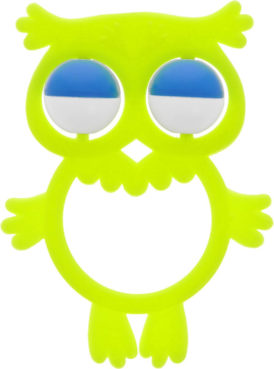 Аэлита Погремушка Совенок цвет лимонный2С384_лимонныйЯркая погремушка Аэлита Совенок не оставит вашего малыша равнодушным и не позволит ему скучать! Игрушка представляет собой силуэт птички, внутри которого расположены два небольших шарика, выполняющие роль погремушки. Удобная форма погремушки позволит малышу с легкостью взять и держать ее. Яркие цвета игрушки направлены на развитие мыслительной деятельности, цветового восприятия, тактильных ощущений и мелкой моторики рук ребенка, а элемент погремушки способствует развитию слуха.