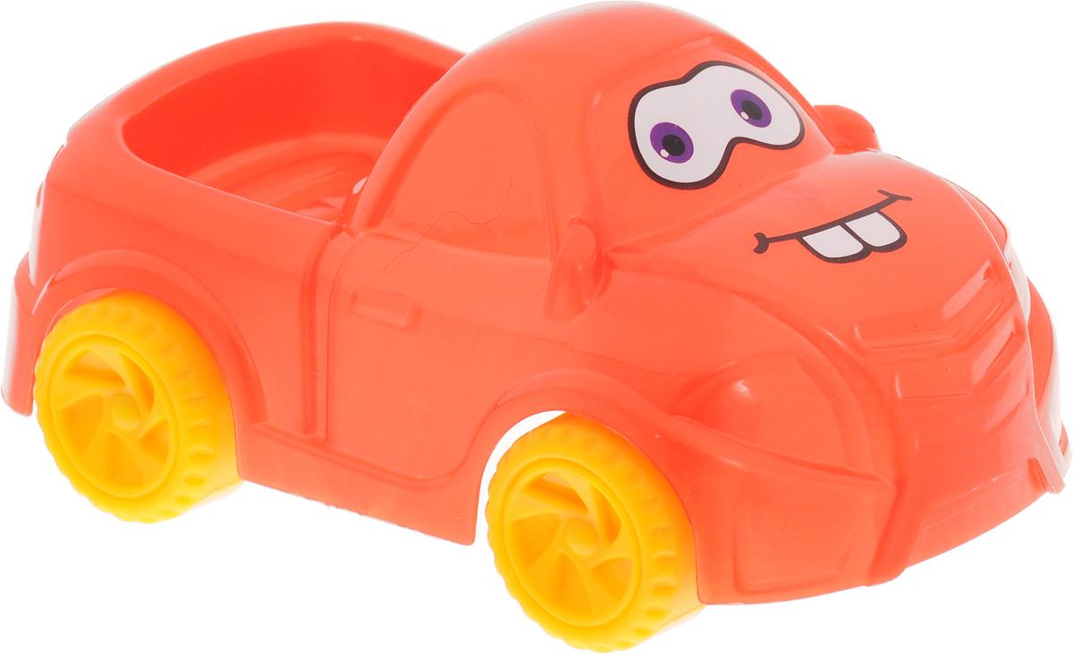 Нордпласт Машинка Глазастик цвет оранжевыйН-279_оранжевыйМашинка Нордпласт Глазастик непременно понравится ребенку своей яркостью, а родителям прочностью и безопасностью. Игрушка не разборная, не имеет мелких деталей. Лобовое стекло машинки декорировано глазками, а капот - ротиком. Игрушка изготовлена из пищевой пластмассы, что обеспечивает дополнительную безопасность при использовании детьми младших возрастов.