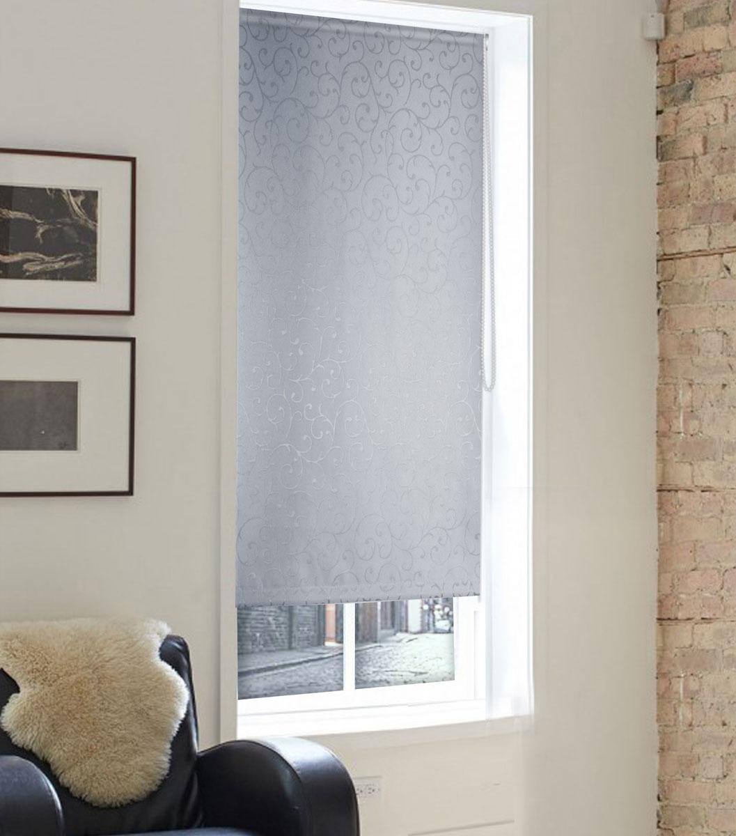 Штора рулонная Эскар Миниролло. Агат, фактурная, цвет: серый, ширина 43 см, высота 160 см37022043160Рулонная штора Эскар Миниролло. Агат выполнена из высокопрочной ткани, которая сохраняет свой размер даже при намокании. Ткань не выцветает и обладает отличной цветоустойчивостью. Миниролло - это подвид рулонных штор, который закрывает не весь оконный проем, а непосредственно само стекло. Такие шторы крепятся на раму без сверления при помощи зажимов или клейкой двухсторонней ленты. Окно остается на гарантии, благодаря монтажу без сверления. Такая штора станет прекрасным элементом декора окна и гармонично впишется в интерьер любого помещения.