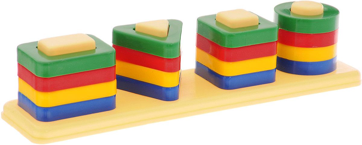 Аэлита Развивающая игра Цветные столбики