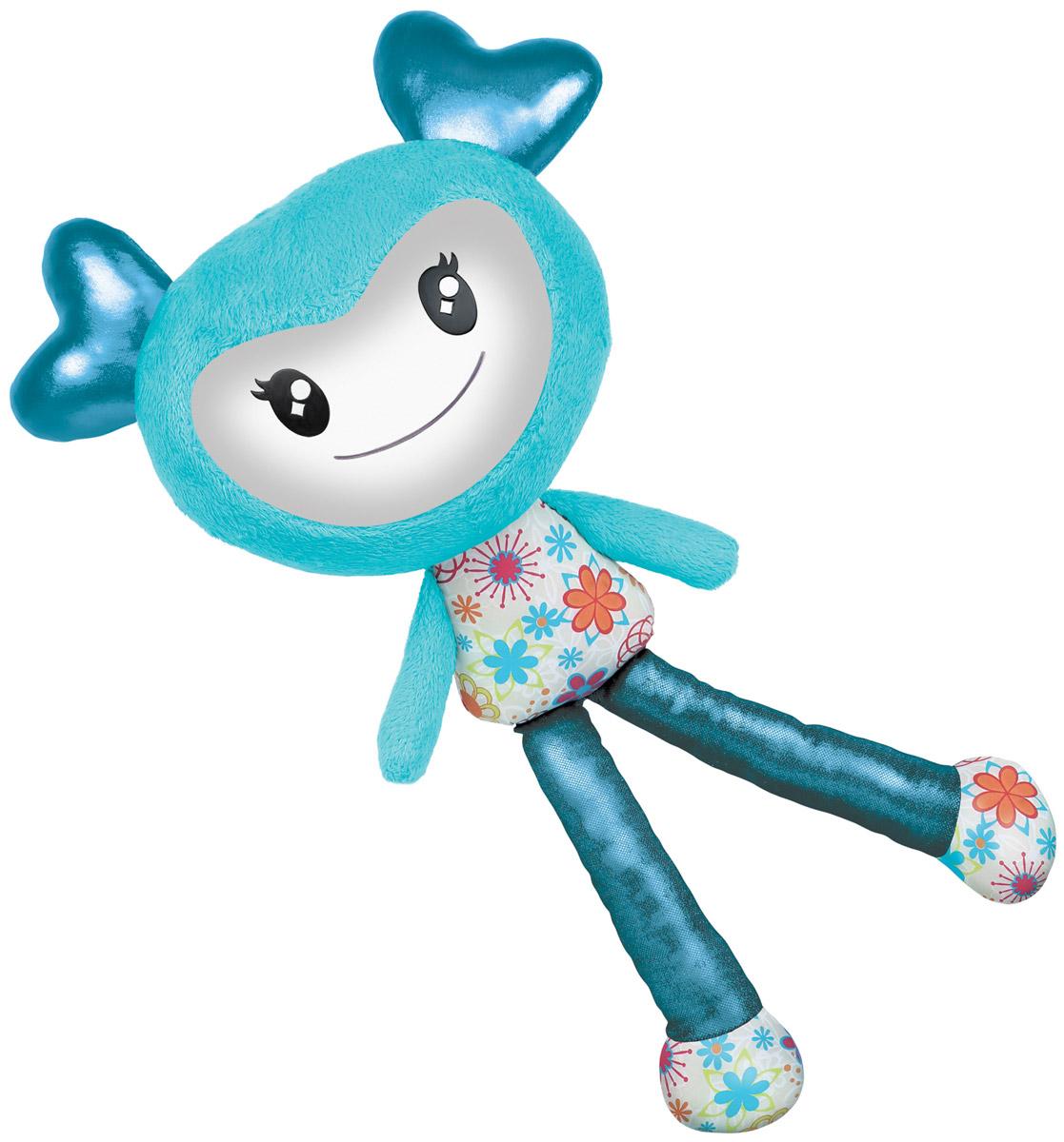 Brightlings Интерактивная игрушка цвет голубой52300_голубойИнтерактивная игрушка Brightlings создана специально для девочек, она выглядит очень ярко, красочно и необычно. У игрушки 3 режима игры: разговор, повторение, музыка. Она умеет произносить более 100 фраз! Реагирует на действия: так, например, если погладить игрушку по спине, она скажет, что это очень мило. А если потрясти ее - выразит недовольство и попросит прекратить. Таким образом, игрушка сможет стать для девочки самой настоящей, верной подружкой! В режиме музыки игрушка проигрывает мелодии в различных стилях (опера, поп, рок-н-ролл, джаз, йодль, битбокс и другие). Меняя положение игрушки, ребенок переключает мелодии - таким образом, девочка сможет почувствовать себя самым настоящим ди-джеем! Рекомендуется докупить 3 батарейки напряжением 1,5V типа ААA (товар комплектуется демонстрационными).