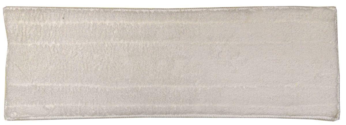 Тряпка на швабру Коллекция Бабочка, 13х43 см, цвет: белый. ATP-102ATP-102Тряпка на швабру Бабочка, р-р 13х43см, микрофибра (корал)