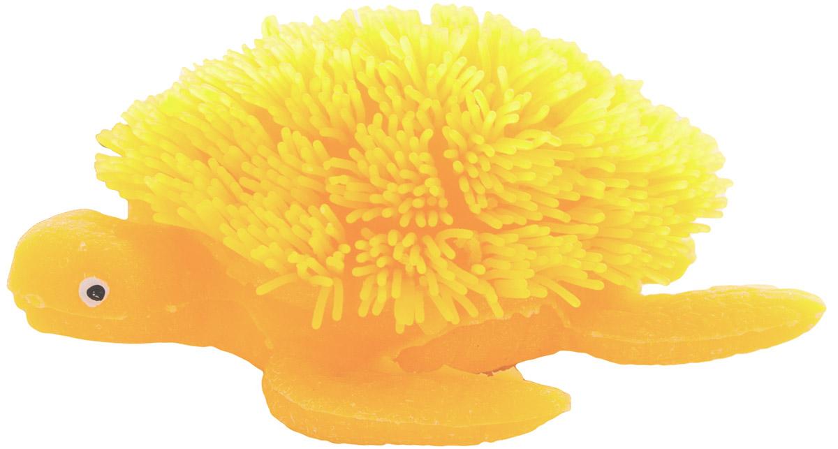 HGL Фигурка Черепаха с подсветкой цвет желтыйSV11193_желтыйФигурка HGL Черепаха - это мягкая резиновая игрушка с резиновым ворсом вместо панциря. Взяв игрушку в руки, расстаться с ней просто невозможно! Её не только приятно держать в руках: если перекинуть игрушку из руки в руку, она начнёт мигать цветными огоньками. Данная игрушка рассчитана на широкую целевую аудиторию - как детей от пяти лет, так и взрослых. Черепаха обязательно станет вашим самым любимым забавным сувениром. Игрушка работает от 3 незаменяемых батареек AG3 (LR41).