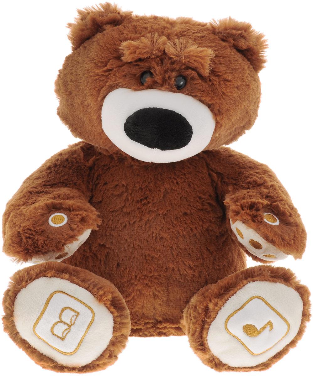 Luvn Learn Интерактивная игрушка Медведь цвет коричневый20020LИнтерактивная игрушка Luvn Learn Медведь - это игрушка нового поколения, которая не только подарит вашему малышу море приятных эмоций, но и обеспечит фантастический интерактивный, образовательный и игровой опыт! Мишка Luv`n Learn может стать настоящим другом ребёнка, поприветствовать, рассказать сказку, спеть песенку, научит малыша читать и считать, развлечет весёлой игрой. Ведь это не просто симпатичная мягкая игрушка, а многофункциональное высокотехнологичное обучающее и развивающее устройство, оснащенное микрофоном, динамиком, собственной картой памяти, беспроводной технологией передачи данных между двумя устройствами (Bluetooth), совместимое с компьютером и другими современными гаджетами (планшет, смартфон). Интересной особенностью этой игрушки является то, что вы можете управлять медведем с помощью мобильного устройства, а также управлять мобильным устройством с помощью медведя. Взаимодействие игрушки с планшетом или смартфоном осуществляется с помощью Bluetooth и...