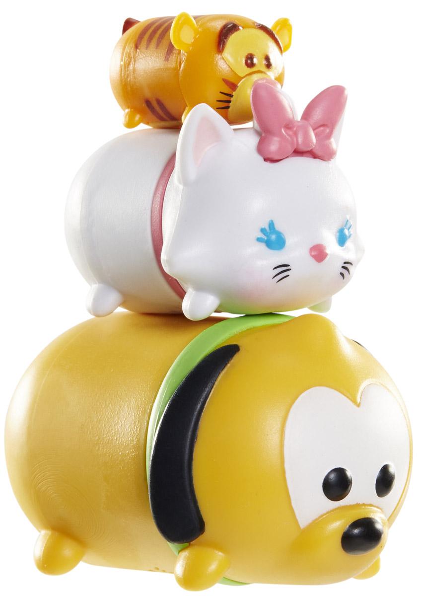 Tsum Tsum Набор фигурок Тигруля Кошечка Мэри Плуто980080_149/159/112Tsum Tsum - это небольшие коллекционные фигурки, изображающие различных персонажей детских мультфильмов Дисней. Они очень яркие, качественно выполнены и выглядят весьма привлекательно. В набор входят 3 фигурки разных размеров. Отличительной особенностью игрушек является то, что их можно сцеплять друг с другом, усаживая на спины - таким образом, у вас получится подобие оригинальной башенки. Соберите целую коллекцию фигурок! В наборе фигурки под номерами 149, 159, 112.