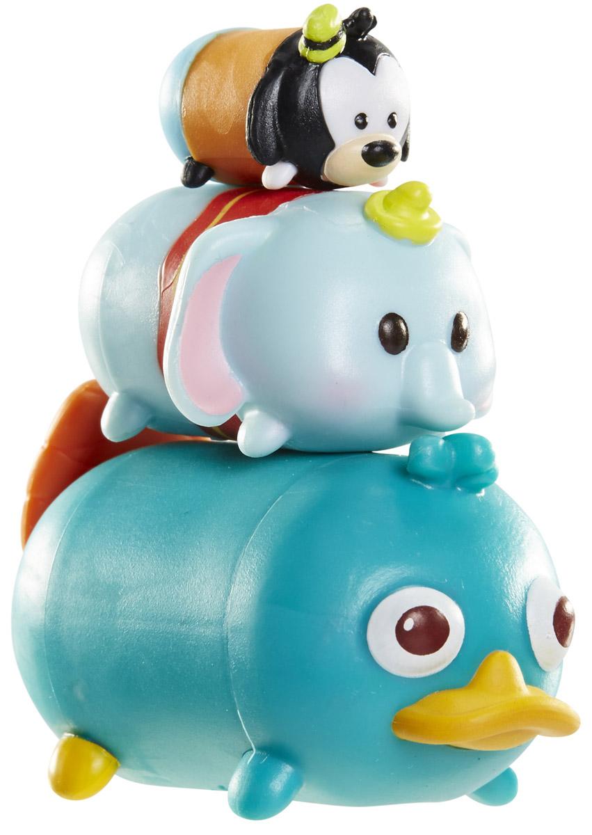 Tsum Tsum Набор фигурок Гуфи Дамбо Утконос Перри980080_107/123/169Tsum Tsum - это небольшие коллекционные фигурки, изображающие различных персонажей детских мультфильмов Дисней. Они очень яркие, качественно выполнены и выглядят весьма привлекательно. В набор входят 3 фигурки разных размеров. Отличительной особенностью игрушек является то, что их можно сцеплять друг с другом, усаживая на спины - таким образом, у вас получится подобие оригинальной башенки. Соберите целую коллекцию фигурок! В наборе фигурки под номерами 107, 123, 169.