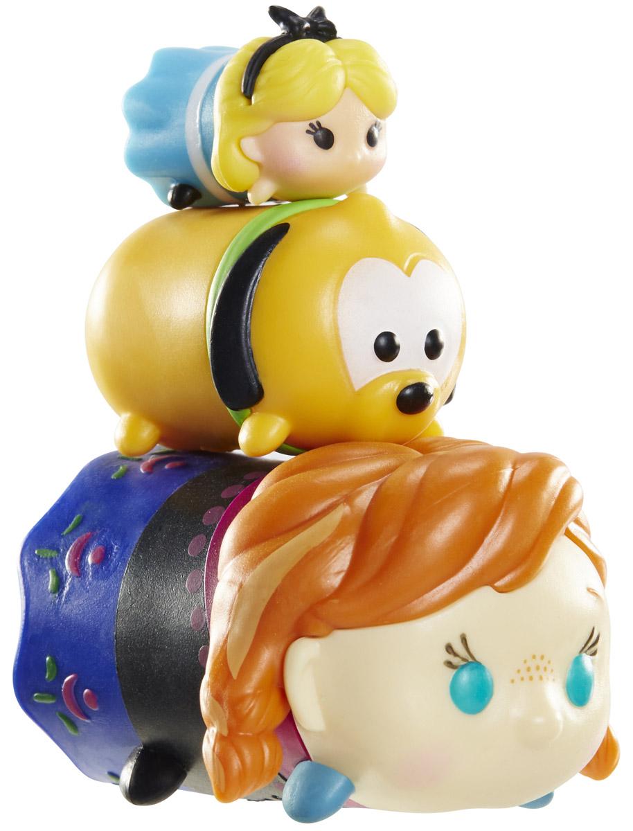 Tsum Tsum Набор фигурок Алиса Плуто Анна980080_134/111/175Tsum Tsum - это небольшие коллекционные фигурки, изображающие различных персонажей детских мультфильмов Дисней. Они очень яркие, качественно выполнены и выглядят весьма привлекательно. В набор входят 3 фигурки разных размеров. Отличительной особенностью игрушек является то, что их можно сцеплять друг с другом, усаживая на спины - таким образом, у вас получится подобие оригинальной башенки. Соберите целую коллекцию фигурок! В наборе фигурки под номерами 134, 111, 175.