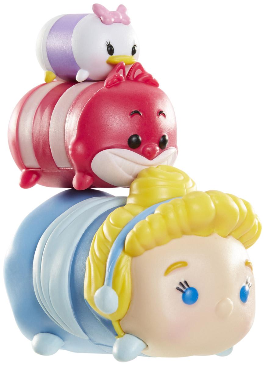 Tsum Tsum Набор фигурок Дейзи Чеширский кот Золушка980080_116/141/130Tsum Tsum - это небольшие коллекционные фигурки, изображающие различных персонажей детских мультфильмов Дисней. Они очень яркие, качественно сделаны и выглядят весьма привлекательно. В набор входят 3 фигурки разных размеров. Отличительной особенностью игрушек является то, что их можно сцеплять друг с другом, усаживая на спины - таким образом, у вас получится подобие оригинальной башенки. Соберите целую коллекцию фигурок! В наборе фигурки под номерами 116, 141, 130.