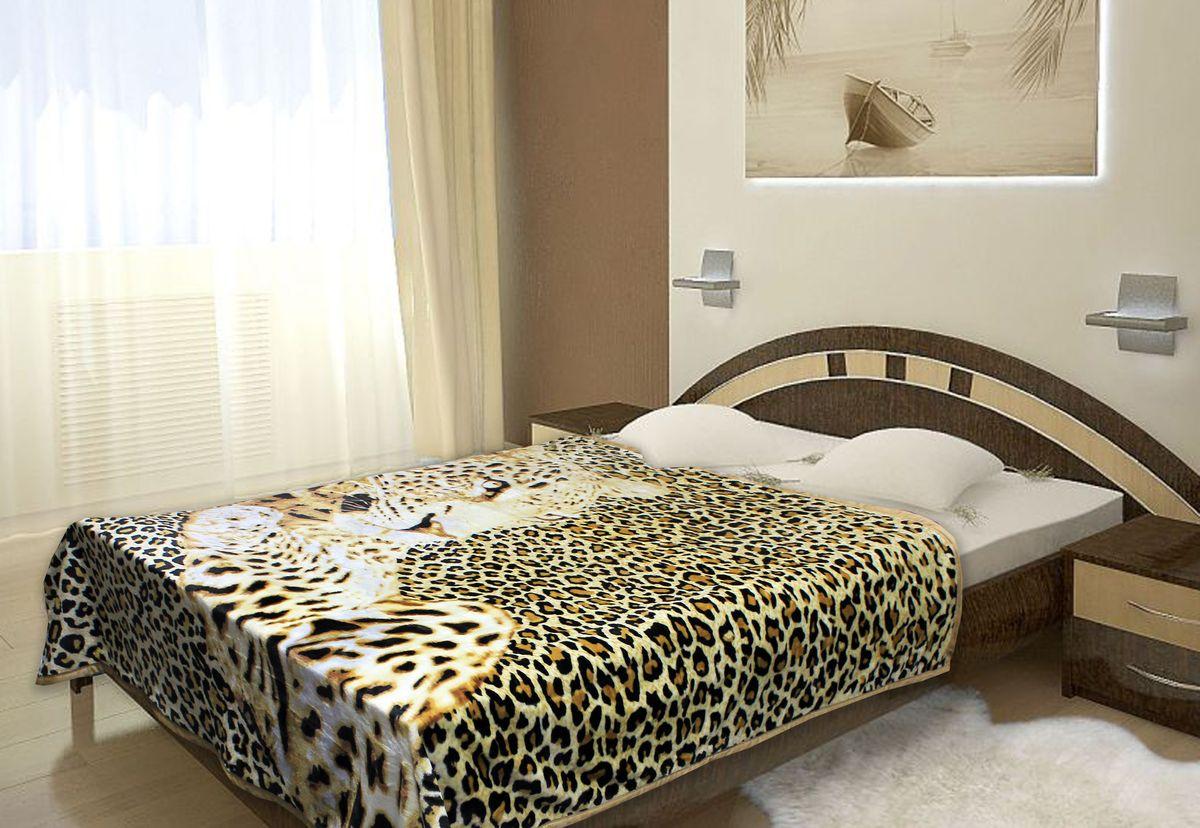 Плед TexRepublic Absolute, 180 х 220 см. 6857568575Плед TexRepublic Absolute изготовлен из микрофайбера и оформлен изображением леопарда. Это современный практичный материал, обладающий массой достоинств. Микрофайбер практически не мнется, не требует особого ухода, не линяет, не выцветает. Четкость рисунка и яркость красок сохраняется долгие годы. Плед теплый, мягкий, приятный на ощупь. Он станет ярким акцентом в интерьере.