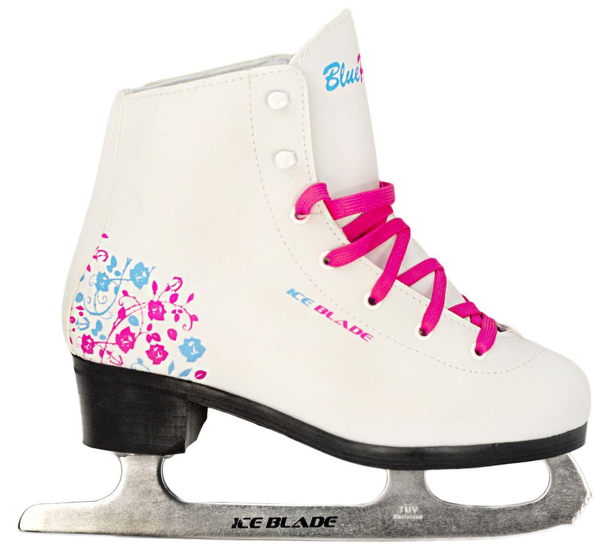 Коньки фигурные Ice Blade BluePink, цвет: белый, розовый, голубой. УТ-00006869. Размер 31