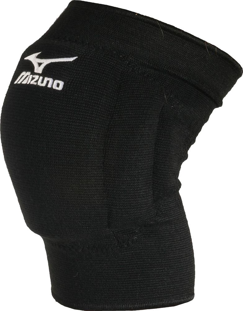 Наколенники волейбольные Mizuno Team Kneepad, цвет: черный, 2 шт. Размер LZ59SS702-09* Защитный наколенник для команд * Технология Mizuno Intercool для вентиляции и комфорта