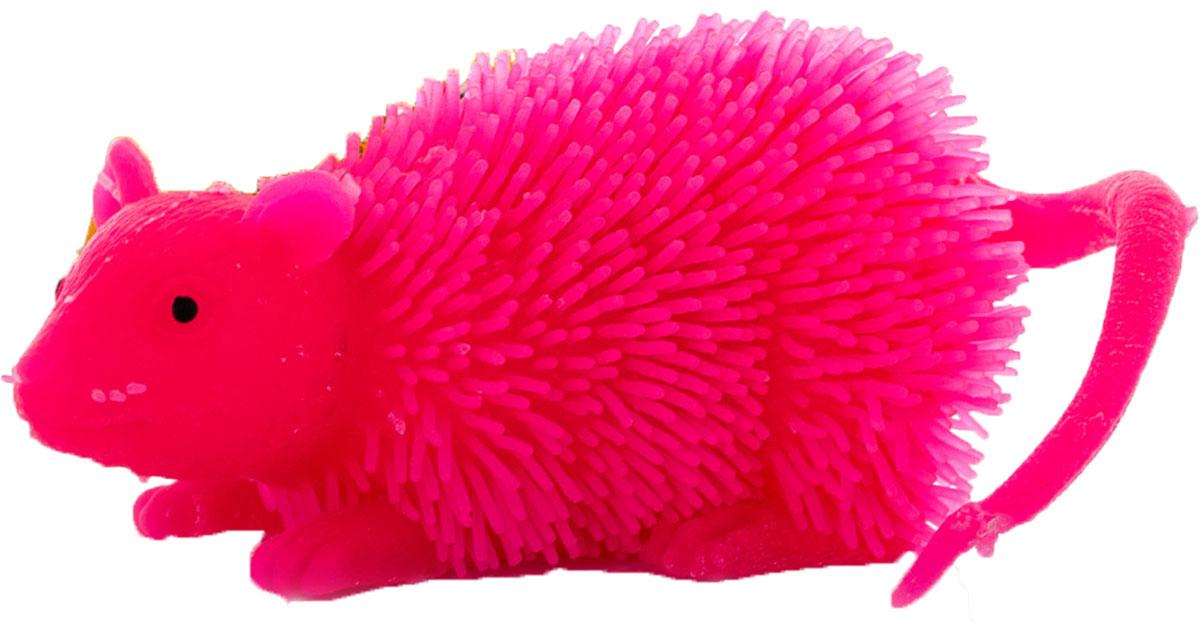 HGL Фигурка Мышь с подсветкой цвет розовыйSV11195_розовыйФигурка HGL Мышь - это мягкая резиновая игрушка в виде мышки с резиновым ворсом. Взяв игрушку в руки, расстаться с ней просто невозможно! Её не только приятно держать в руках: если перекинуть игрушку из руки в руку, она начнёт мигать цветными огоньками. Данная игрушка рассчитана на широкую целевую аудиторию - как детей от пяти лет, так и взрослых. Мышь обязательно станет самым любимым забавным сувениром. Игрушка работает от 3 незаменяемых батареек AG3 (LR41).