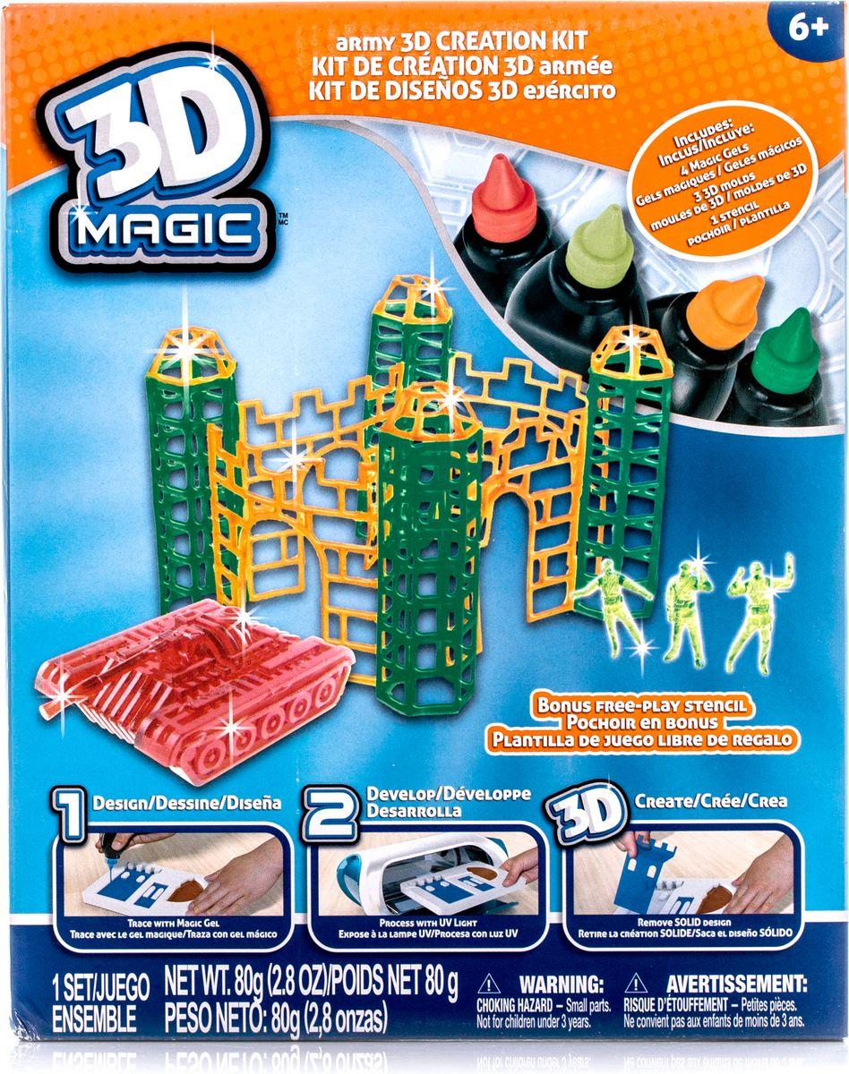 3D Magic Набор для 3D моделирования Боевая крепость
