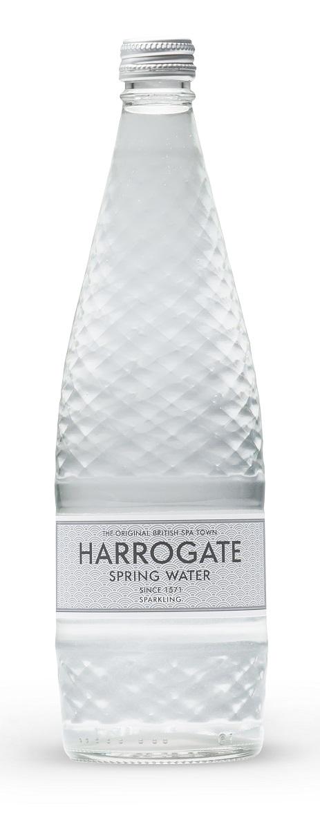 Harrogate вода минеральная газированная, 750 мл (стекло) 5060042330070
