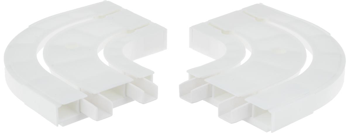 Оконцовка для потолочной шины Эскар, двухрядная, 2 шт20012Оконцовки Эскар являются дополнительными элементами карниза, которые служат для создания поворота на концах потолочного профиля. Изделия обеспечивают удобство в использовании всей конструкции карниза. Они изготавливаются из высокопрочного и экологически безопасного пластика. Качественное сырье гарантирует прочность профиля и неизменный цвет на протяжении многих лет. Оконцовки имеют два ряда и предназначены для потолочного шинного карниза. Комплектация: 2 шт. Высота оконцовки: 1,7 см. Ширина оконцовки: 8 см.