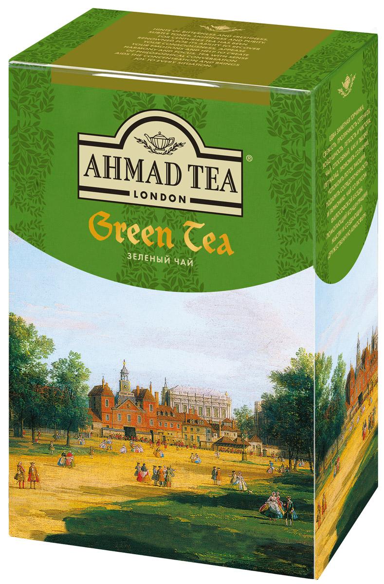 Ahmad Tea зеленый чай, 100 г1304-2Зеленый чай Ahmad Tea - это едва заметная горчинка, свежесть, прозрачность оттенков, воздушность, легкость и чистота. Чай, способный, как и тысячу лет назад, прояснить сознание, успокоить поток эмоций, подарить сосредоточенность и гармонию. Чай со вкусом философской беседы, помогающий концентрации мысли и создающий дружественную атмосферу.