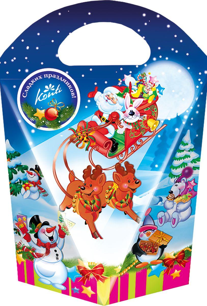 Конти рус Новогодний подарок 2016 Дивная ночь - Конти, 270 г13937Дедушка Мороз уже мчится к нам на настоящих санях! Этот подарок с легкостью поможет вам почувствовать приближение любимого праздника - Нового года.