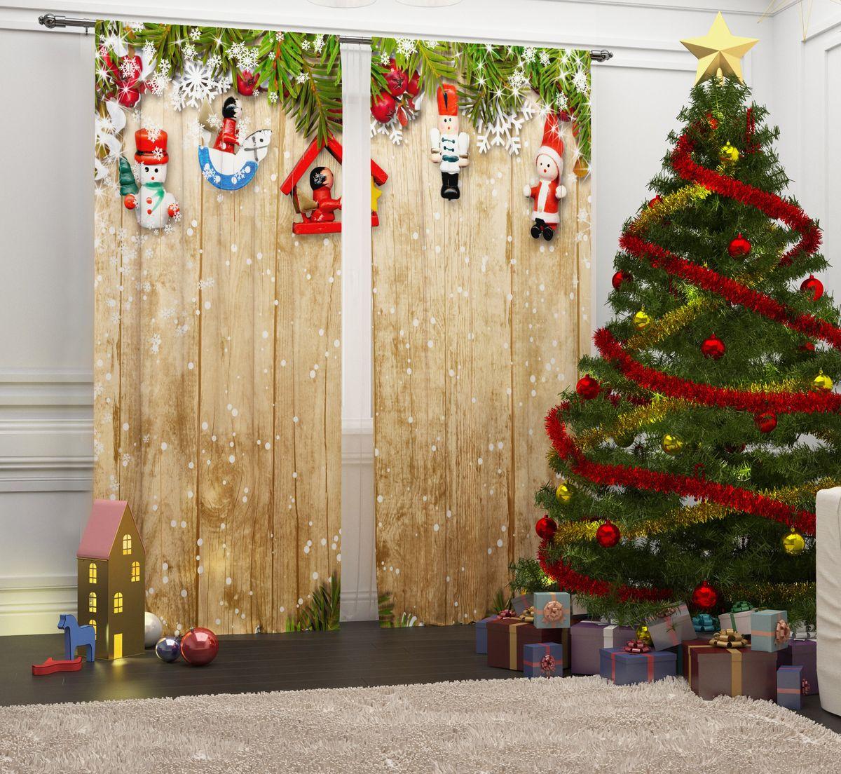 Фотошторы Сирень Игрушки на ветке, на ленте, высота 260 см07072-ФШ-ГБ-001Перед новогодними праздниками каждая хозяйка или хозяин хотят украсить свой дом. Мы предлагаем оригинальное решение, украсить Ваше окно фотошторами с новогодней тематикой. Новогодние фотошторы Сирень станут отличным подарком на Новый год. Подарите радость праздника себе и Вашим близким людям! Текстиль бренда «Сирень» - качество в каждом сантиметре ткани! Крепление на карниз при помощи шторной ленты на крючки. В комплекте: Портьера: 2 шт. Размер (ШхВ): 145 см х 260 см. Рекомендации по уходу: стирка при 30 градусах гладить при температуре до 150 градусов Изображение на мониторе может немного отличаться от реального.