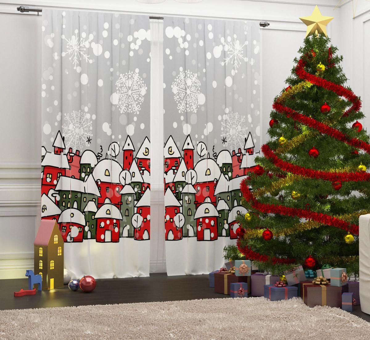 Фотошторы Сирень Зима в городке, на ленте, высота 260 см07188-ФШ-ГБ-001Перед новогодними праздниками каждая хозяйка или хозяин хотят украсить свой дом. Мы предлагаем оригинальное решение, украсить Ваше окно фотошторами с новогодней тематикой. Новогодние фотошторы Сирень станут отличным подарком на Новый год. Подарите радость праздника себе и Вашим близким людям! Текстиль бренда «Сирень» - качество в каждом сантиметре ткани! Крепление на карниз при помощи шторной ленты на крючки. В комплекте: Портьера: 2 шт. Размер (ШхВ): 145 см х 260 см. Рекомендации по уходу: стирка при 30 градусах гладить при температуре до 150 градусов Изображение на мониторе может немного отличаться от реального.