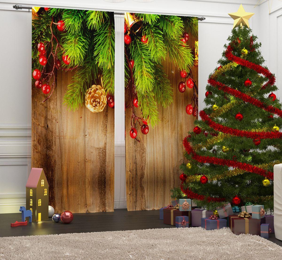 Фотошторы Сирень Праздничная ветка, на ленте, высота 260 см02157-ФШ-ГБ-001Перед новогодними праздниками каждая хозяйка или хозяин хотят украсить свой дом. Мы предлагаем оригинальное решение, украсить Ваше окно фотошторами с новогодней тематикой. Новогодние фотошторы Сирень станут отличным подарком на Новый год. Подарите радость праздника себе и Вашим близким людям! Текстиль бренда «Сирень» - качество в каждом сантиметре ткани! Крепление на карниз при помощи шторной ленты на крючки. В комплекте: Портьера: 2 шт. Размер (ШхВ): 145 см х 260 см. Рекомендации по уходу: стирка при 30 градусах гладить при температуре до 150 градусов Изображение на мониторе может немного отличаться от реального.