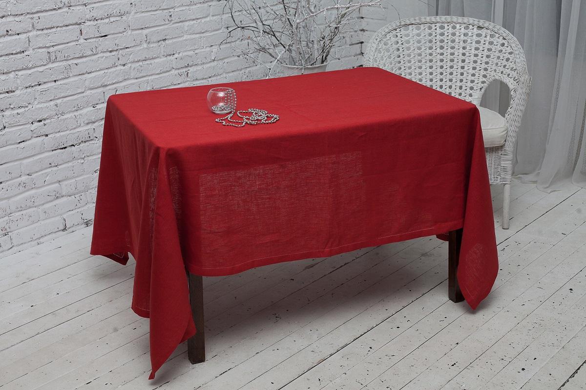 Скатерть Гаврилов-Ямский Лен, прямоугольная, цвет: бордовый, 150 x 180 см10со2065-2Скатерть Гаврилов-Ямский Лен, выполненная из 100% льна, станет украшением любого стола. Лён - поистине, уникальный экологически чистый материал. Изделия из льна обладают уникальными потребительскими свойствами. Такая скатерть порадует вас невероятно долгим сроком службы. Скатерть Гаврилов-Ямский Лен - незаменимая вещь при сервировке стола.