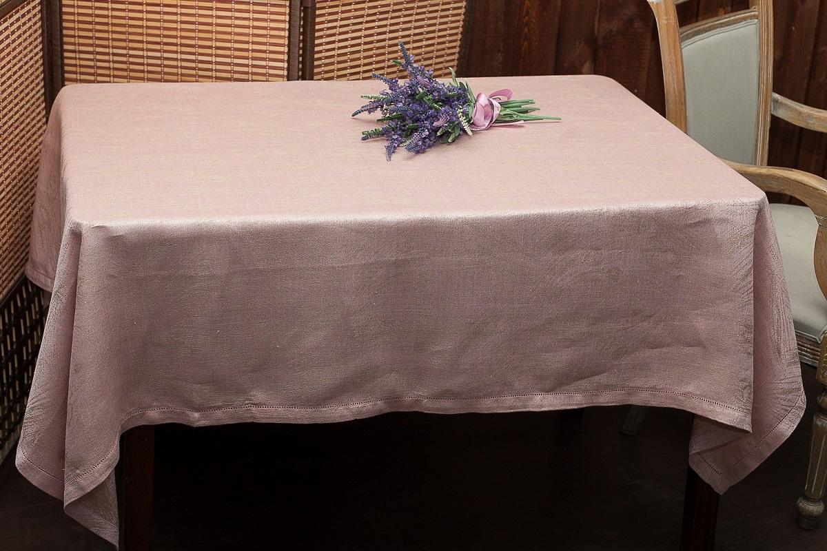 Скатерть Гаврилов-Ямский Лен, прямоугольная, цвет: розово-лиловый, 140 x 180 см6со6363-2Скатерть Гаврилов-Ямский Лен, выполненная из 100% льна, станет украшением любого стола. Лён - поистине, уникальный экологически чистый материал. Изделия из льна обладают уникальными потребительскими свойствами. Такая скатерть порадует вас невероятно долгим сроком службы. Скатерть Гаврилов-Ямский Лен - незаменимая вещь при сервировке стола.