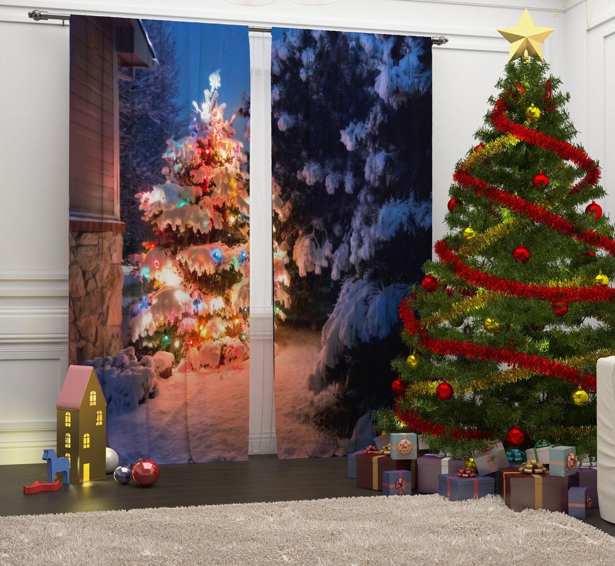 Фотошторы Сирень Волшебство у дома, на ленте, высота 260 см07089-ФШ-ГБ-001Перед новогодними праздниками каждая хозяйка или хозяин хотят украсить свой дом. Мы предлагаем оригинальное решение, украсить Ваше окно фотошторами с новогодней тематикой. Новогодние фотошторы Сирень станут отличным подарком на Новый год. Подарите радость праздника себе и Вашим близким людям! Текстиль бренда «Сирень» - качество в каждом сантиметре ткани! Крепление на карниз при помощи шторной ленты на крючки. В комплекте: Портьера: 2 шт. Размер (ШхВ): 145 см х 260 см. Рекомендации по уходу: стирка при 30 градусах гладить при температуре до 150 градусов Изображение на мониторе может немного отличаться от реального.