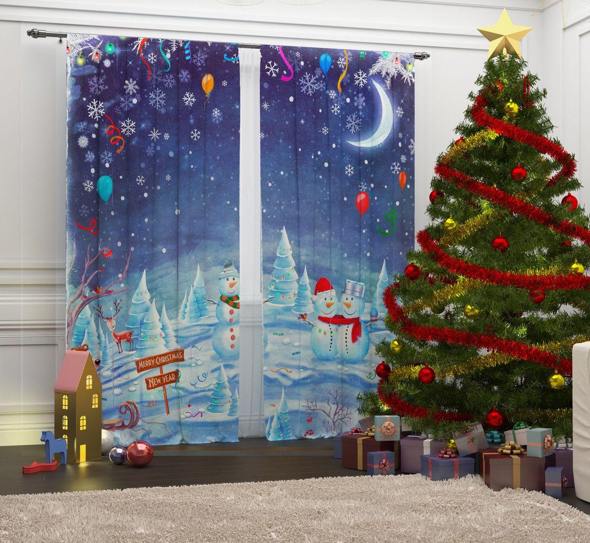 Фотошторы Сирень Встреча Рождества, на ленте, высота 260 см07291-ФШ-ГБ-001Перед новогодними праздниками каждая хозяйка или хозяин хотят украсить свой дом. Мы предлагаем оригинальное решение, украсить Ваше окно фотошторами с новогодней тематикой. Новогодние фотошторы Сирень станут отличным подарком на Новый год. Подарите радость праздника себе или Вашим близким и друзьям! Текстиль бренда «Сирень» - качество в каждом сантиметре ткани! Крепление на карниз при помощи шторной ленты на крючки. В комплекте: Портьера: 2 шт. Размер (ШхВ): 145 см х 260 см. Рекомендации по уходу: стирка при 30 градусах гладить при температуре до 150 градусов Изображение на мониторе может немного отличаться от реального.