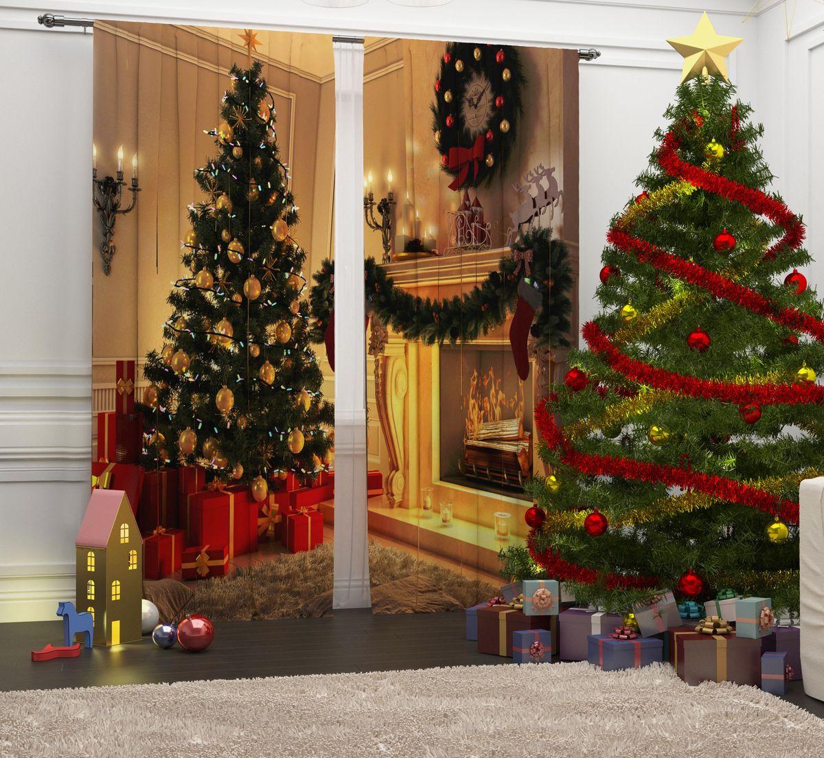 Фотошторы Сирень Волшебный вечер, на ленте, высота 260 см07052-ФШ-ГБ-001Перед новогодними праздниками каждая хозяйка или хозяин хотят украсить свой дом. Мы предлагаем оригинальное решение, украсить Ваше окно фотошторами с новогодней тематикой. Новогодние фотошторы Сирень станут отличным подарком на Новый год. Подарите радость праздника себе и Вашим близким людям! Текстиль бренда «Сирень» - качество в каждом сантиметре ткани! Крепление на карниз при помощи шторной ленты на крючки. В комплекте: Портьера: 2 шт. Размер (ШхВ): 145 см х 260 см. Рекомендации по уходу: стирка при 30 градусах гладить при температуре до 150 градусов Изображение на мониторе может немного отличаться от реального.