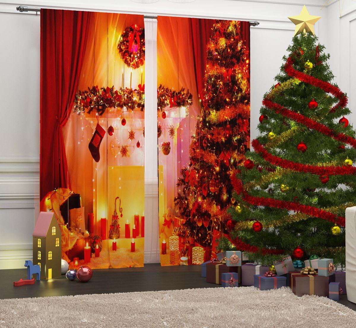 Фотошторы Сирень Вечер у камина, на ленте, высота 260 см03813-ФШ-ГБ-001Перед новогодними праздниками каждая хозяйка или хозяин хотят украсить свой дом. Мы предлагаем оригинальное решение, украсить Ваше окно фотошторами с новогодней тематикой. Новогодние фотошторы Сирень станут отличным подарком на Новый год. Подарите радость праздника себе и Вашим близким людям! Текстиль бренда «Сирень» - качество в каждом сантиметре ткани! Крепление на карниз при помощи шторной ленты на крючки. В комплекте: Портьера: 2 шт. Размер (ШхВ): 145 см х 260 см. Рекомендации по уходу: стирка при 30 градусах гладить при температуре до 150 градусов Изображение на мониторе может немного отличаться от реального.