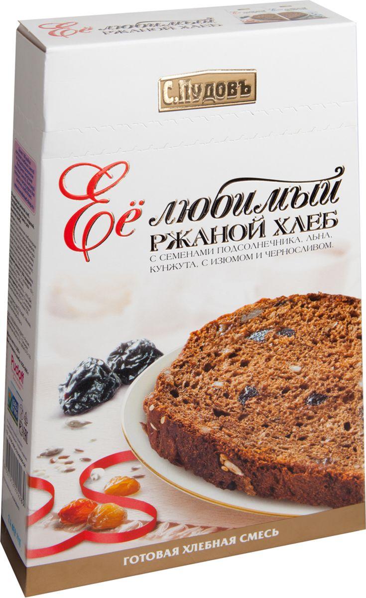 С. Пудовъ Пудовъ её любимый ржаной хлеб, 500 г 4607012294289