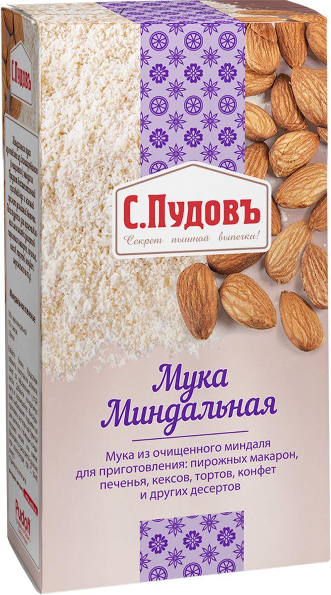 С. Пудовъ Пудовъ мука миндальная, 100 г 4607012296290