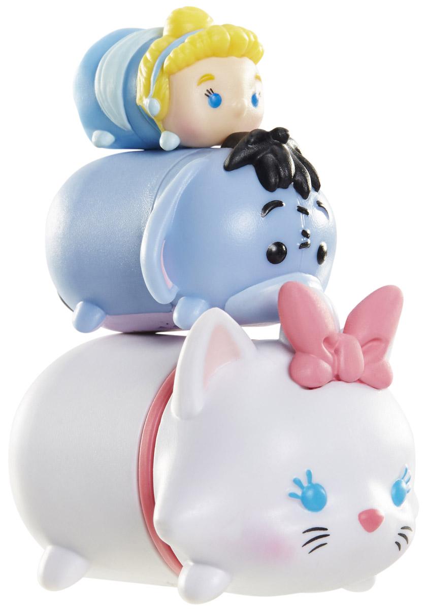 Tsum Tsum Набор фигурок Золушка Ослик Иа Мэри980080_128/156/160Tsum Tsum - это небольшие коллекционные фигурки, изображающие различных персонажей детских мультфильмов Дисней. Они очень яркие, качественно сделаны и выглядят весьма привлекательно. В набор входят 3 фигурки разных размеров. Отличительной особенностью игрушек является то, что их можно сцеплять друг с другом, усаживая на спины - таким образом, у вас получится подобие оригинальной башенки. Соберите целую коллекцию фигурок! В наборе фигурки под номерами 128, 156, 160.