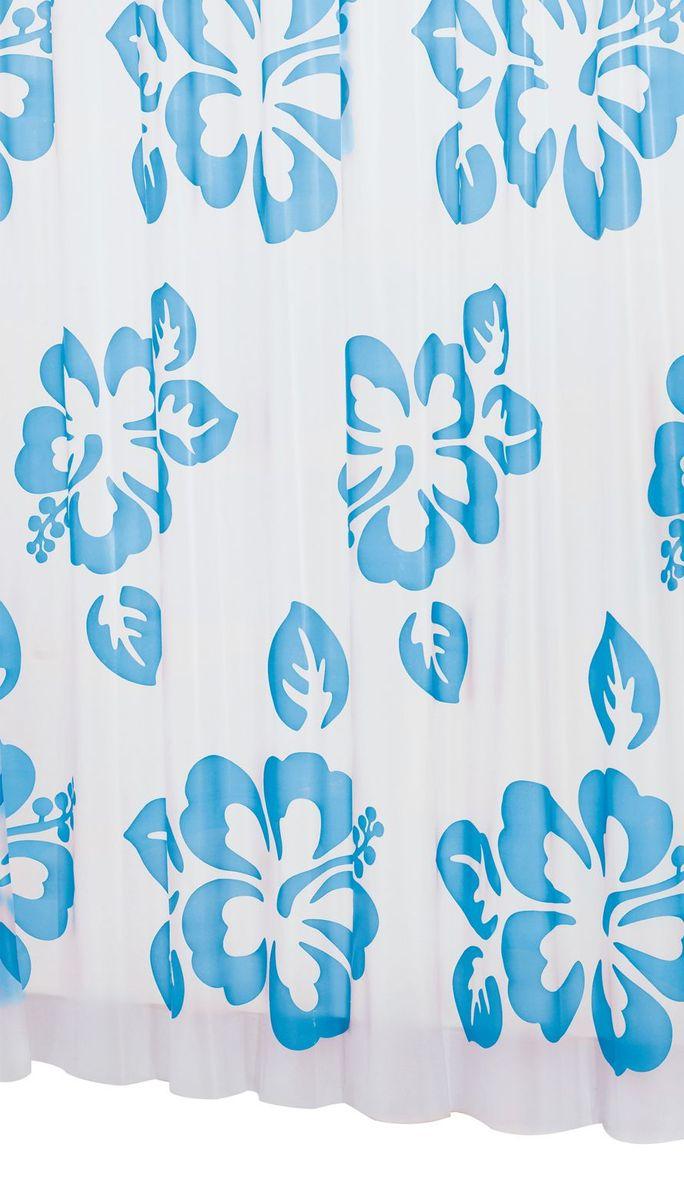 Штора для ванной комнаты Ridder Flowerpower, цвет: синий, голубой, 180 х 200 см32353Высококачественная немецкая штора для душа создает прекрасное настроение. Продукты из эколена не имеют запаха и считаются экологически чистыми. Ручная стирка. Не гладить.
