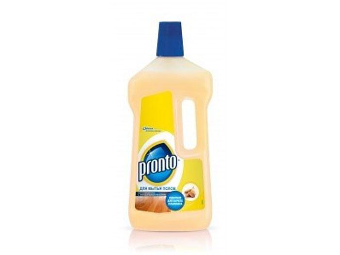Средство для мытья полов Pronto, с миндальным маслом, 750 мл636890Средство для мытья полов Pronto мягко очищает и ухаживает, защищая поверхность от неблагоприятного внешнего воздействия. Не оставляет разводов. Идеально подходит для мытья деревянных полов и ламината, а также любых других деревянных поверхностей. Состав: вода, н-ПАВ менее 5%, органический растворитель, жирные кислоты таллового масла менее 5%, загуститель, отдушка, гидроксид калия, миндальное масло, консервант, красители. Товар сертифицирован.