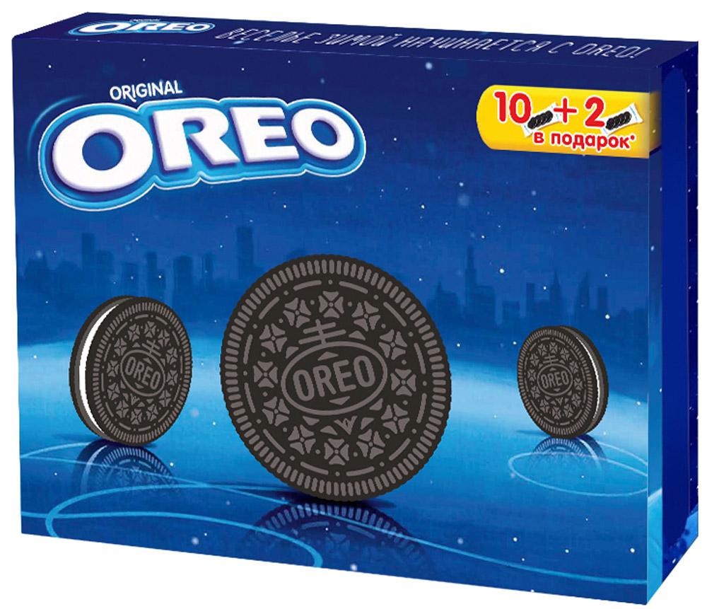 """Oreo """"Каток"""" печенье с какао и ванильным вкусом, 456 г 4036198"""