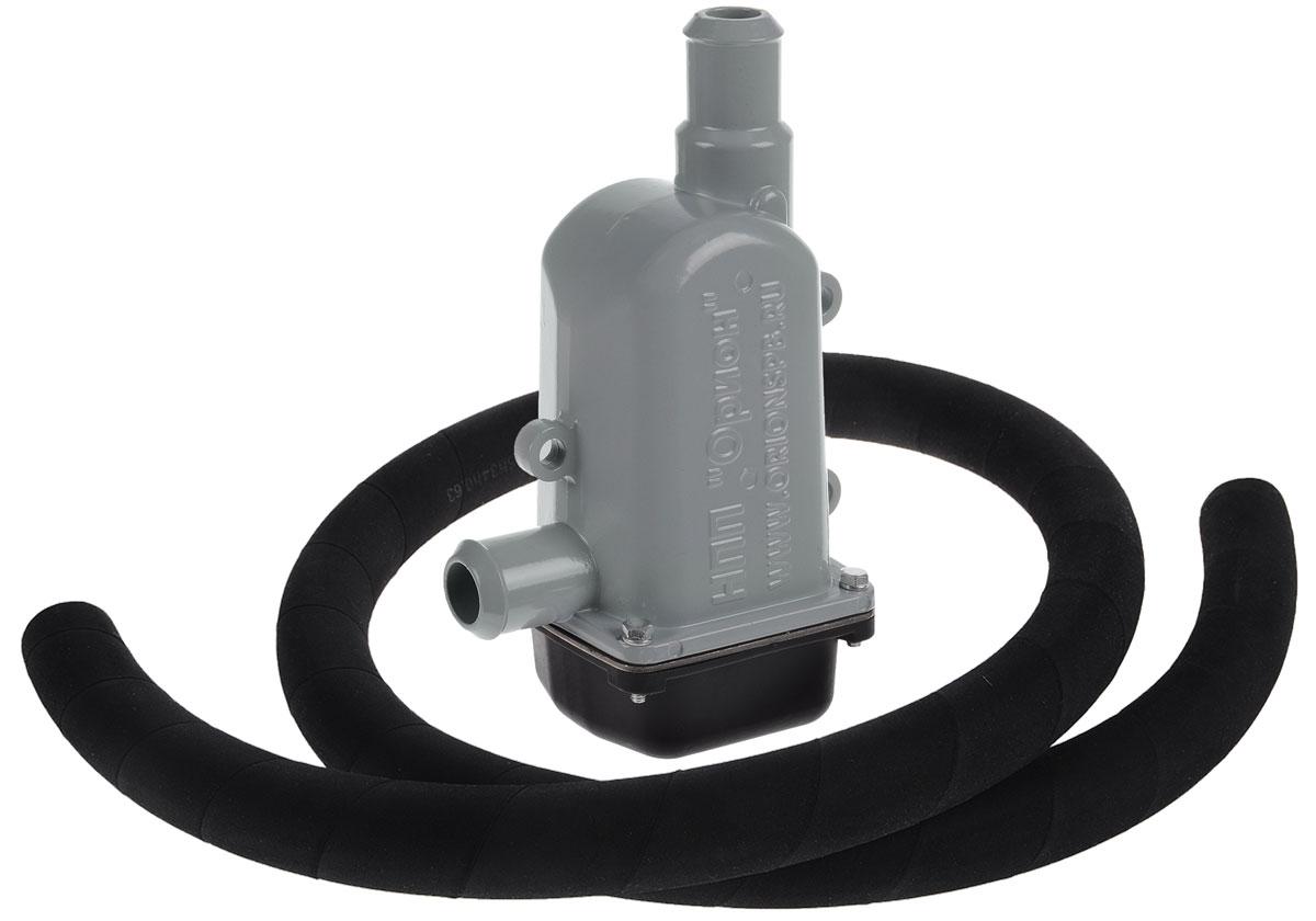 Предпусковой подогреватель охлаждающей жидкости Вымпел, для КаМаз, 3 кВт8003Предпусковой подогреватель охлаждающей жидкости Вымпел предназначен для нагрева охлаждающей жидкости и ДВС перед запуском при низких температурах. Подогреватель тосола подключается с помощью резиновых шлангов к контуру охлаждения ДВС и монтируется с помощью кронштейна к двигателю. Нагрев охлаждающей жидкости осуществляется электрическим нагревательным элементом с терморегулятором. Устройство подключается к сети переменного тока 220 В. Розетка использующаяся для подключения должна быть заземлена. Степень защиты от воды - Ip34. Технические характеристики: -Потребляемая мощность: 3 КВт -Номинальное напряжение: 220 Вт -Температура отключения терморегулятора: не более 65°С -Температура включения терморегулятора: не более 50°С -Длина сетевого провода: 1 метр -Степень защиты по ГОСТ 14254-96: Ip34 -Масса подогревателя: 1 кг -Климатическое исполнение У1 по ГОСТ 15150-69: от - 45°С Подходит к: -КАМАЗ с двигателем 740.31-240...