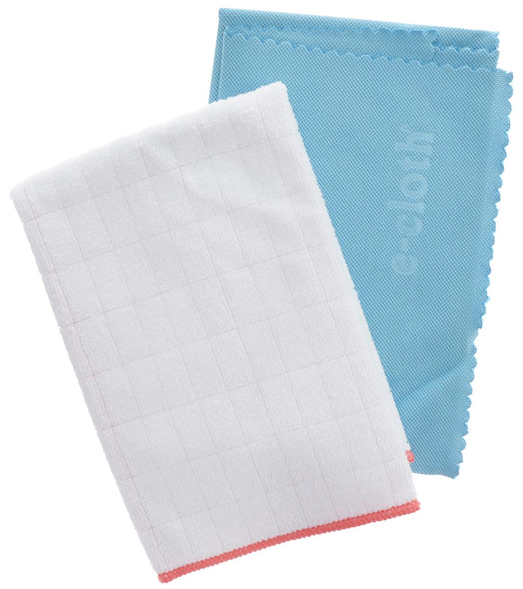 Салфетка E-cloth для полировки и очистки стекла, цвет: белый, голубой, 40 х 50 см + ПОДАРОК: антибактериальная салфетка20244_белый, голубойСалфетка E-cloth выполнена из качественного комбинированного материала: полиэстера и полиамида. Используется для очистки и полировки стеклянных, металлических и других твердых поверхностей без использования химических средств. Достаточно лишь смочить салфетку водой для очистки поверхности от жира и других загрязнений. Для полировки и придания блеска используйте сухую салфетку. Не оставляет разводов. Удаляет свыше 99% бактерий. Выдерживает до 300 циклов стирки без потери эффективности. Материал: 80% полиэстер, 20% полиамид. Размер салфетки: 40 х 50 см. В подарок прилагается антибактериальная салфетка (32 х 32 см).