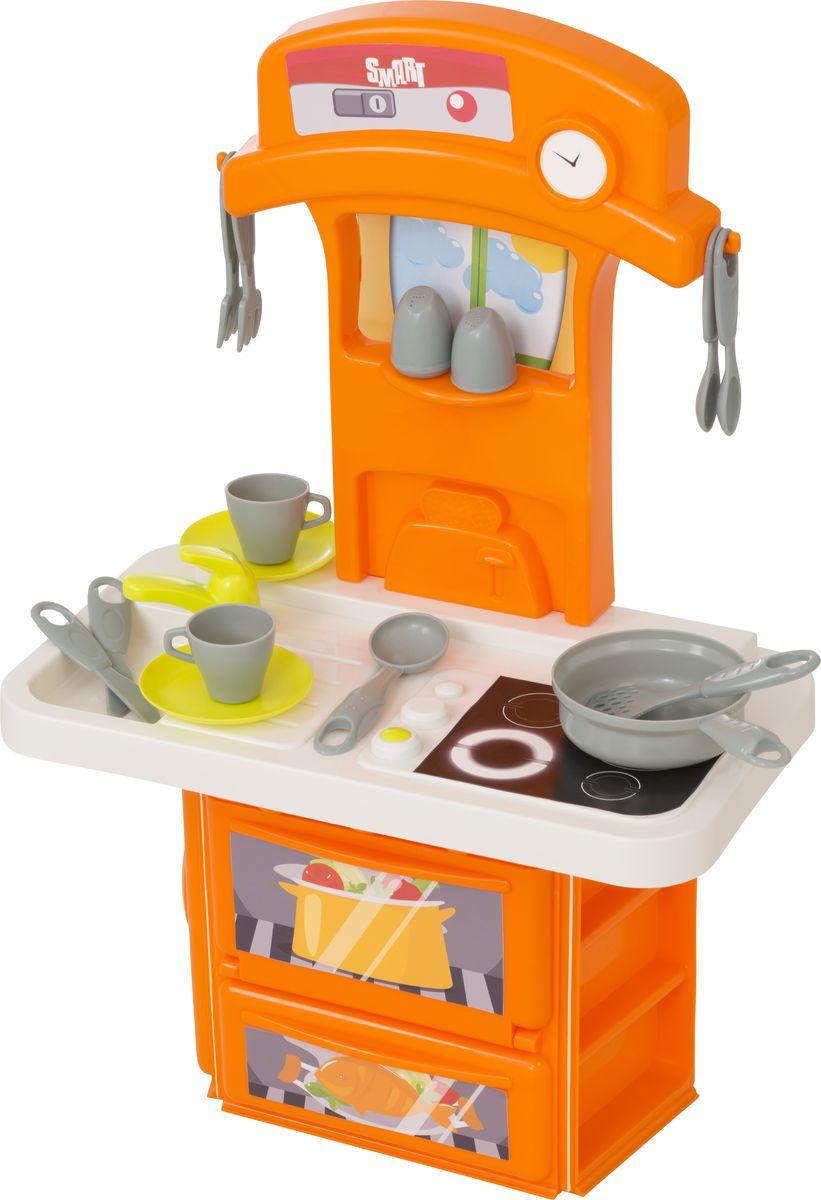 HTI Электронная кухня Smart 1684081.001684081.00Электронная кухня Smart. Реалистичные звуковые эффекты, открывающаяся дверца духовки, 14 аксессуаров. Работает от 2 батареек AAA. (Батарейки комлект не входят). Для детей от 3-х лет.Высота кухни в собранном виде 60 см Высота игрушки в собранном виде 60 см. Размер в собранном виде:39х21,5х60