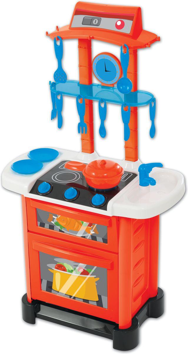 HTI Электронная кухня Smart1684089.00Детская электронная кухня с подсветкой и звуками. 11 аксессуаров прилагаются.Открывающиеся дверцы.Работает от 3 батареек типа АА (в комплект не входят). Высота кухни в собранном виде 87 см . Высота игрушки в собранном виде 87 см. Размер в собранном виде:50х26х87