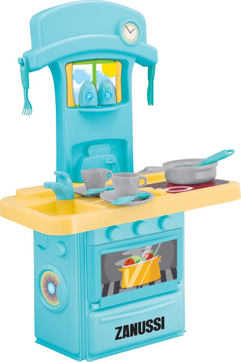 HTI Электронная мини-кухня Zanussi1684200.00Детская электронная кухня с подсветкой и звуками. 14 аксессуаров прилагаются.Открывающаяся дверца.Работает от 3 батареек типа АА (в комплект не входят). Высота кухни в собранном виде 60 см . Высота игрушки в собранном виде 60 см. Размер в собранном виде:38,6х21,5х60